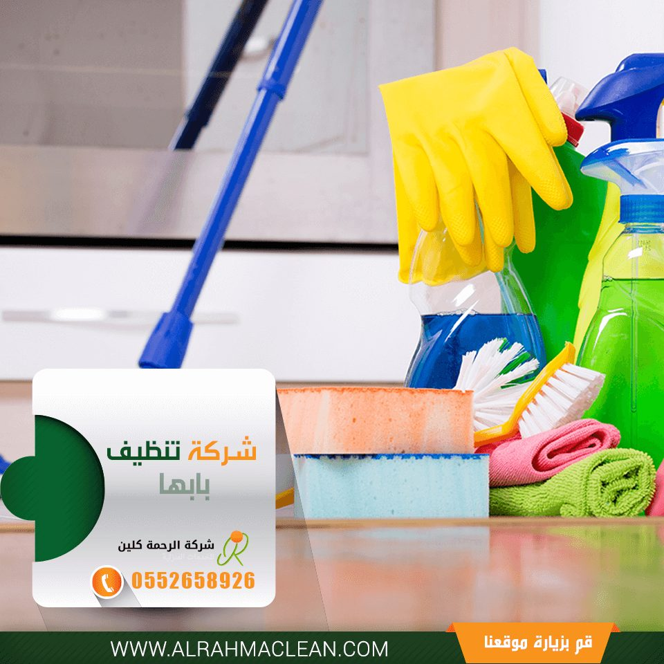 شركة تنظيف بابها - شركة تنظيف فلل بابها