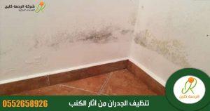 تنظيف الجدران من آثار الكنب والسواد وطريقة معالجة الخدوش من الجدار